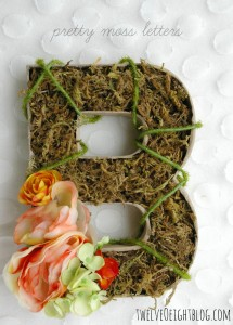 diy moss letters 2