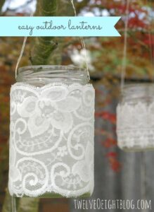 easy outdoor lanterns