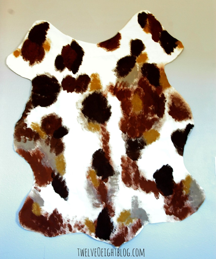 diy cowhide 5