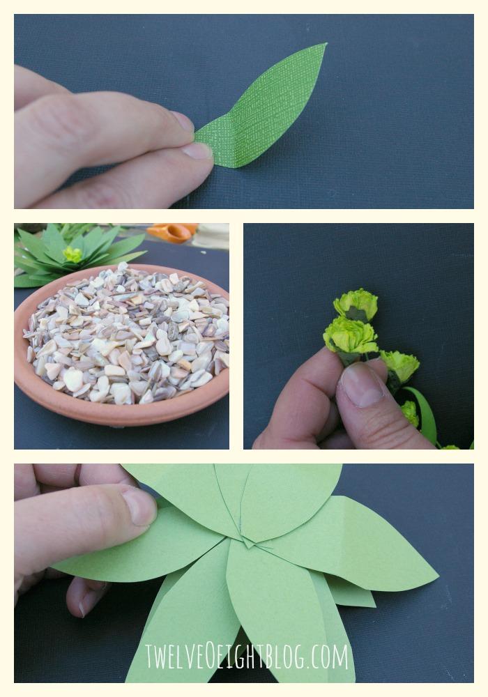 paper succulent 3