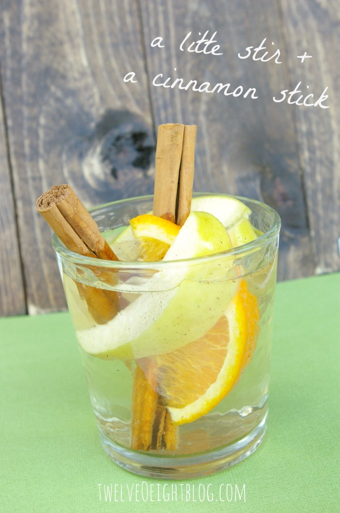 apple peach sangria
