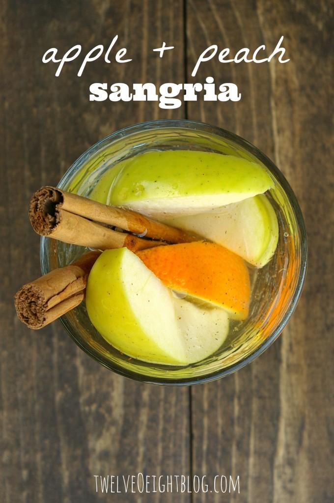 apple sangria recipe, sangria recipe, how to make a sangria, apple drinks, fall drinks, fall sangria