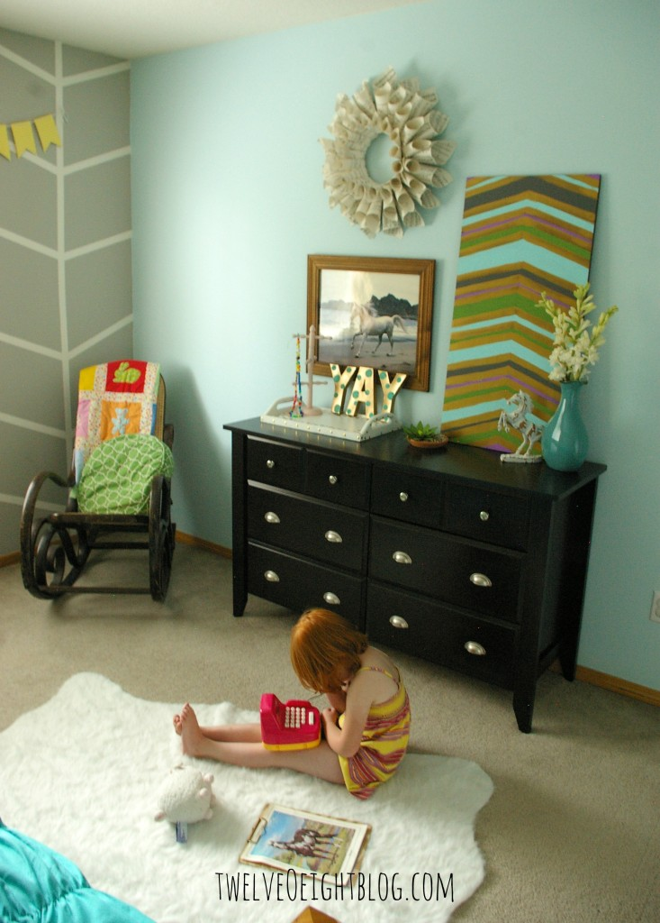 big girl bedroom makeover