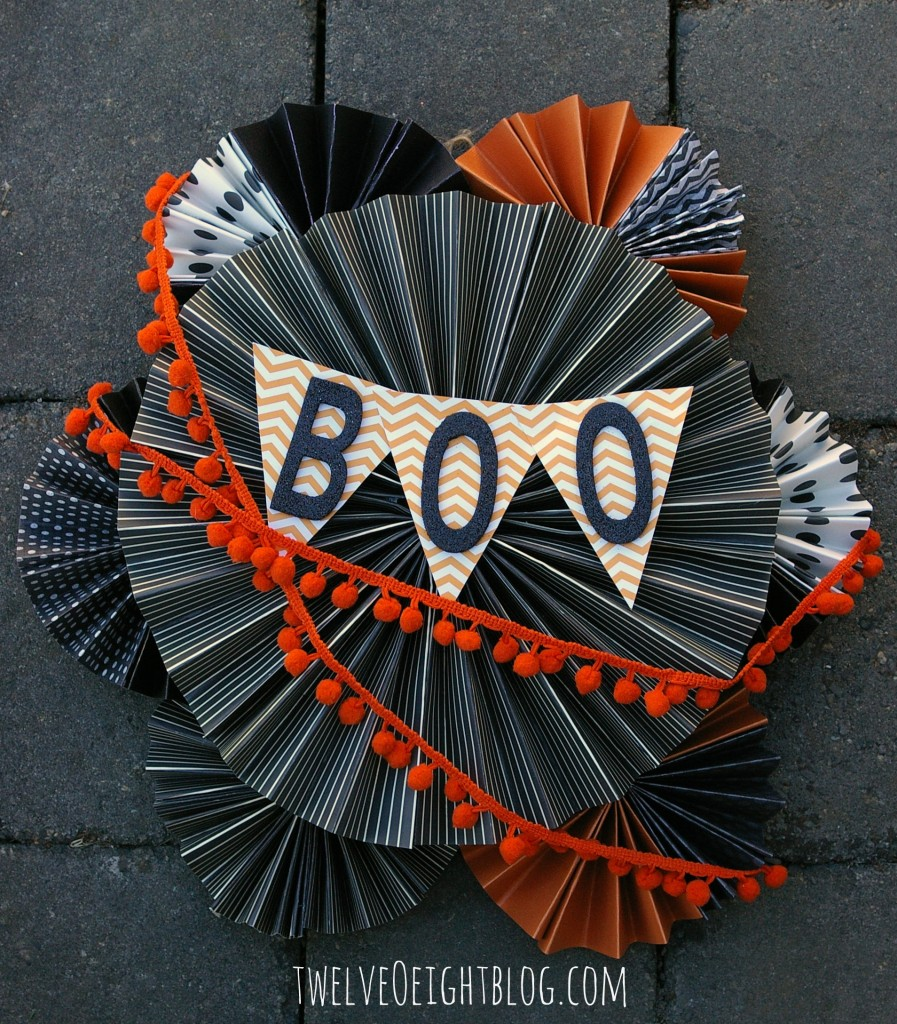 easy diy halloween wreath 2