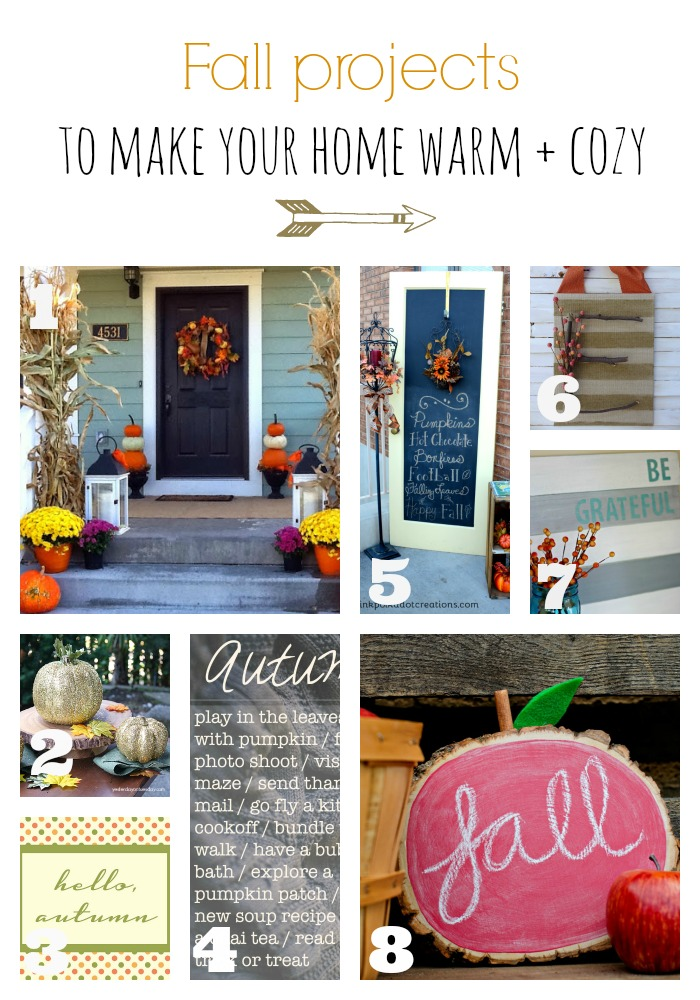 diy fall ideas, fall craft, fall home decor, chalkboard, free printable, diy pumpkin