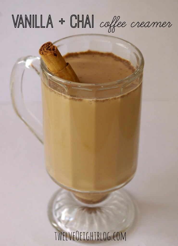 how to make vanilla chai coffee creamer