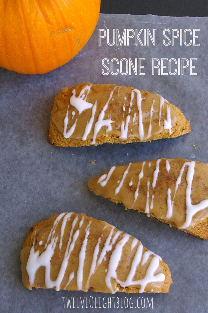 Starbucks Pumpkin Scones recipe
