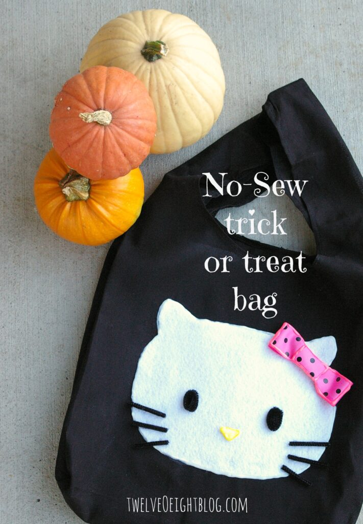 no sew trick or treat bag