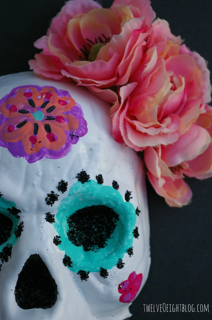 painted sugar skull 2