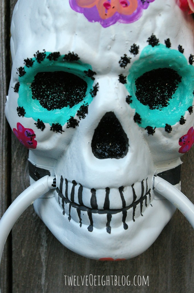 sugar skull paint 3
