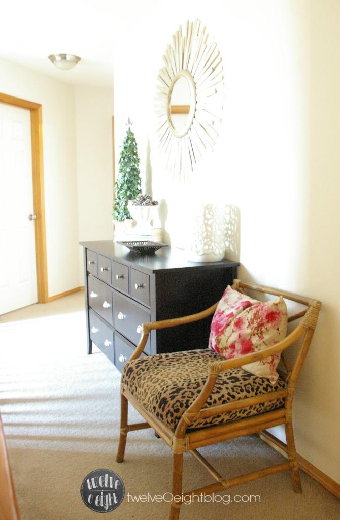 How to style a dresser twelveOeightblog.com
