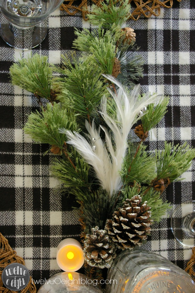 Christmas Home Tour twelveOeightblog.com #Christmas #DIY #TableSetting #twelveOeightblog