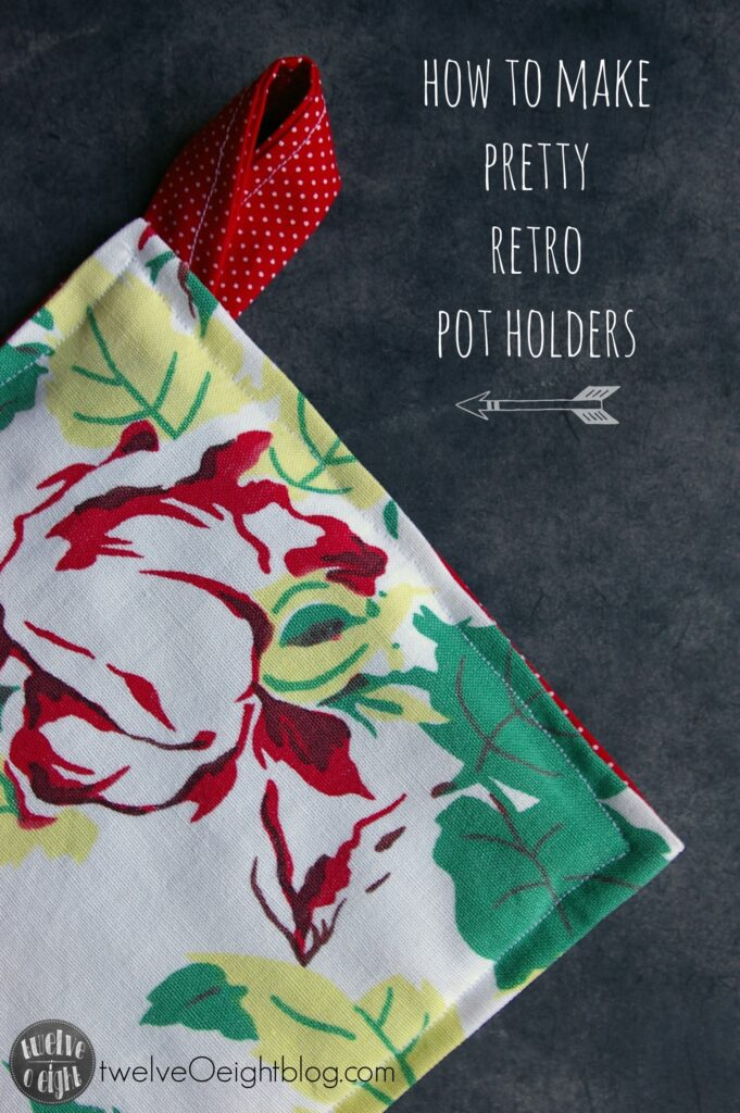 How to make Pot Holders twelveOeightblog.com #potholders #diy #howtomakepotholders #potholderpattern #twelveOeightblog