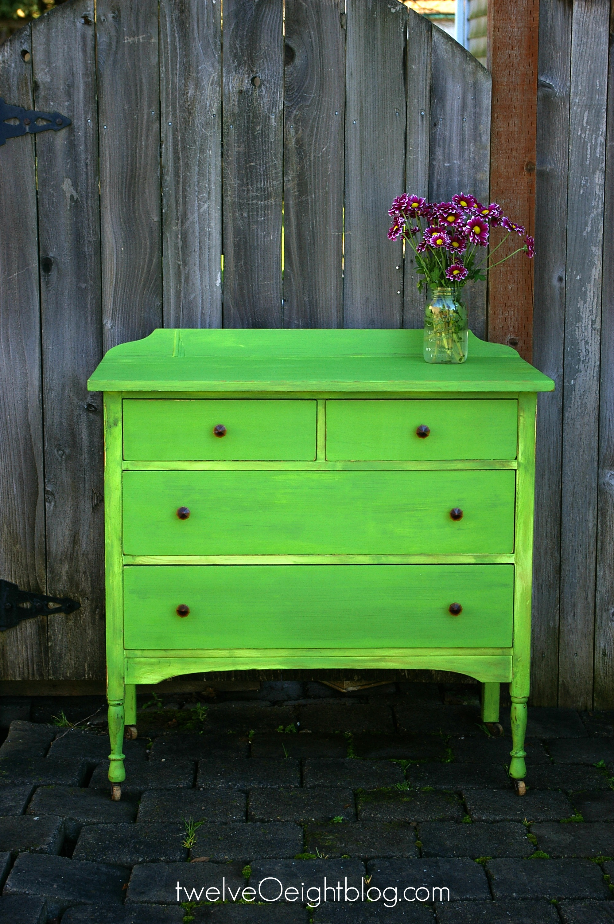 Excellent Painted Vintage Dresser Homemade Chalk Paint Twelveoeight Download Free Architecture Designs Barepgrimeyleaguecom
