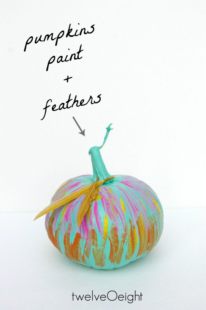 Painted pumpkins #pumpkins #fall #twelveOeight #boho #bohemian #diy