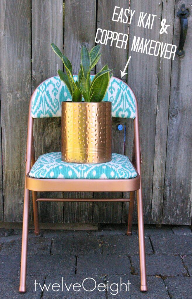 copper chair 1