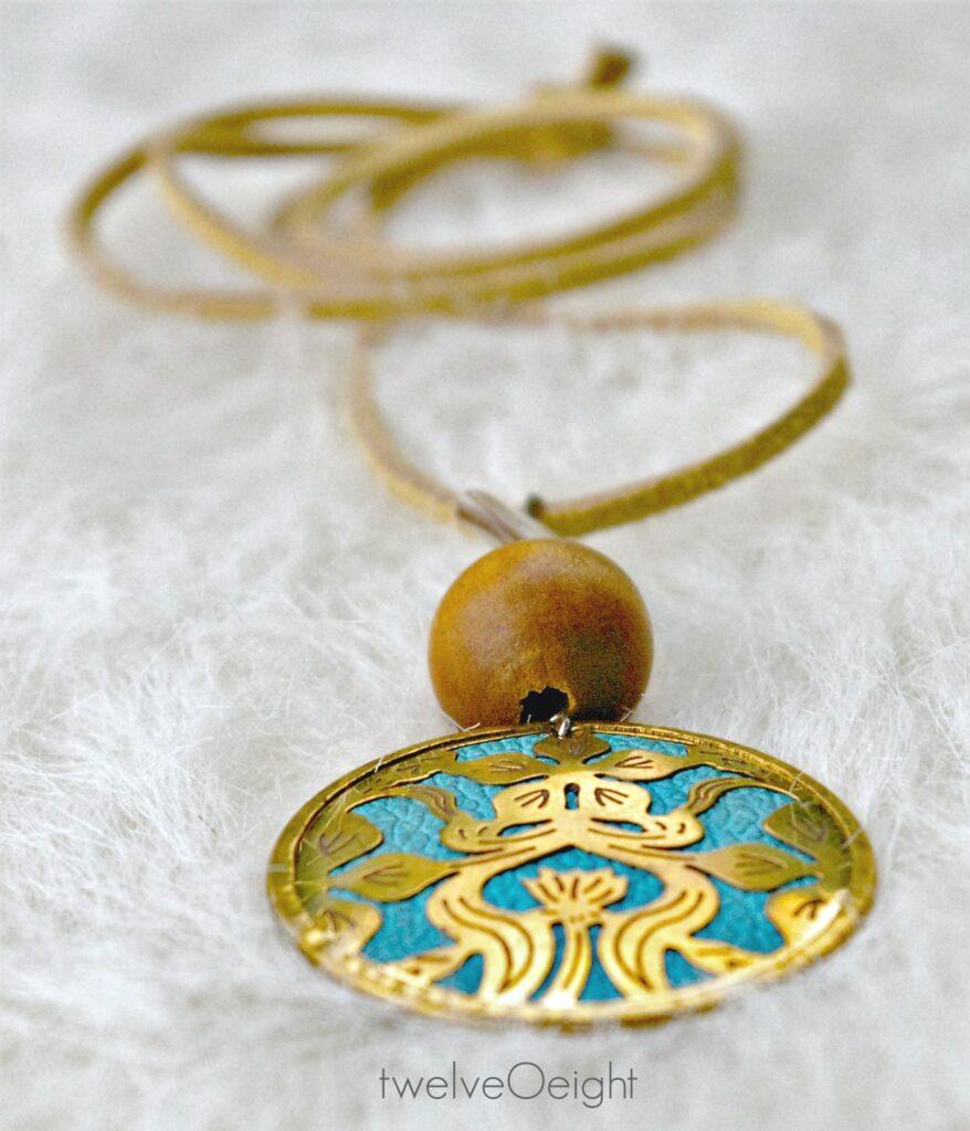 diy jewerly ideas, necklace, twelveOeight