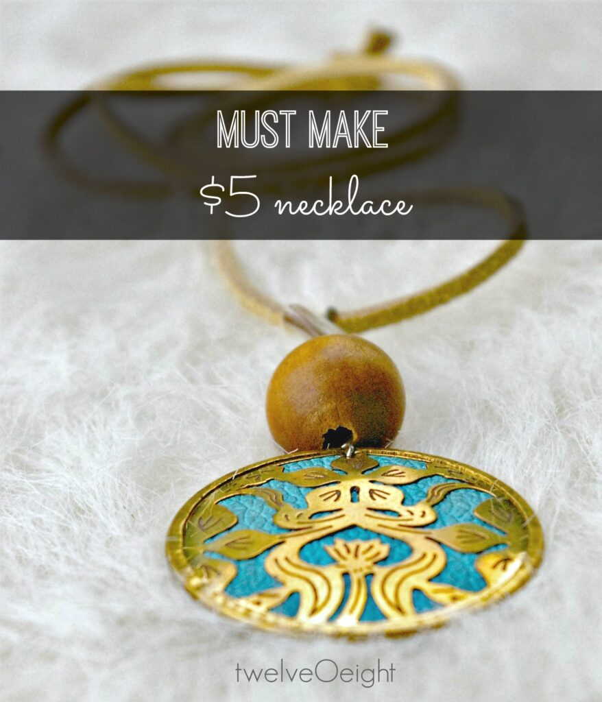 diy jewelry, gifts you can make, necklace