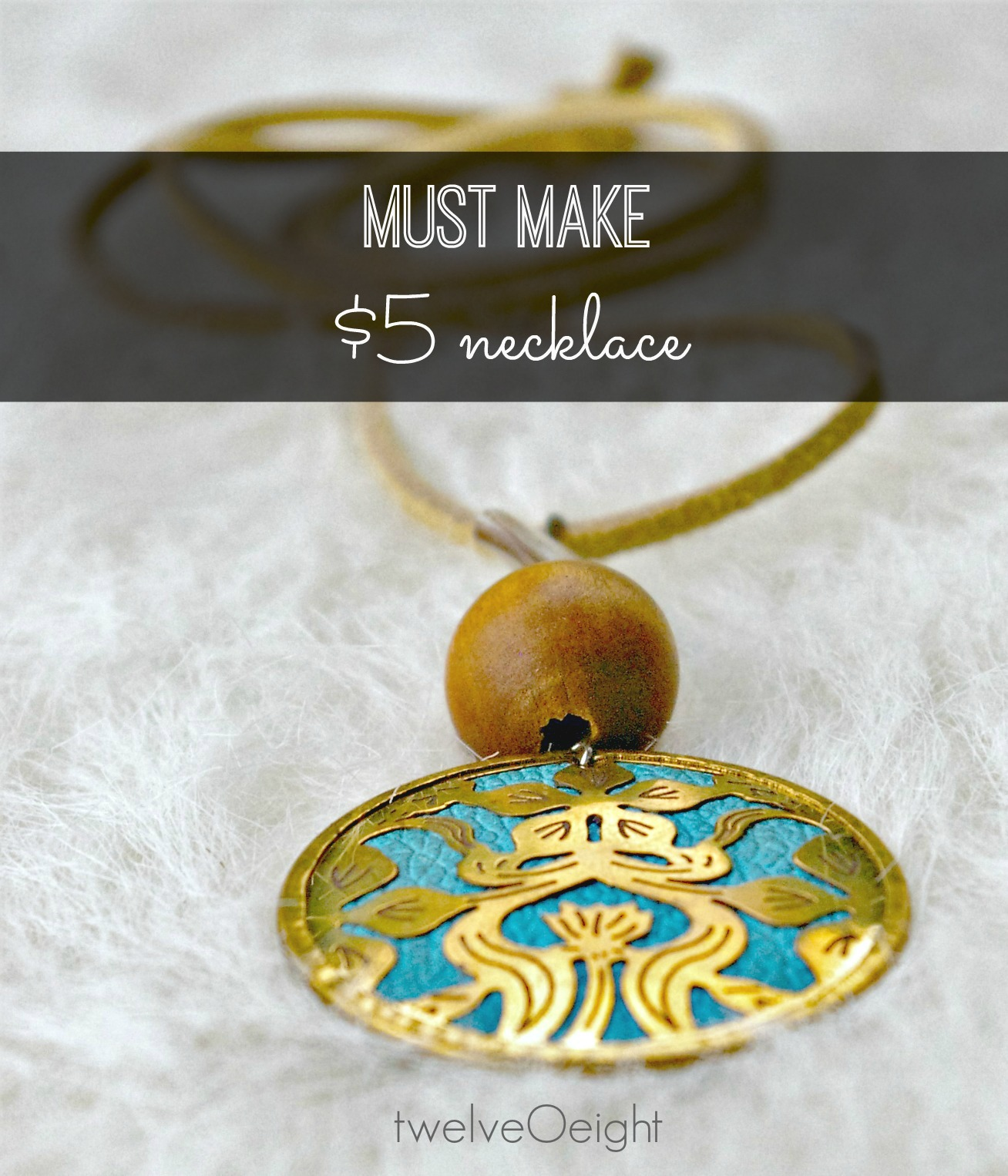 easy diy boho necklace tending to our gifts