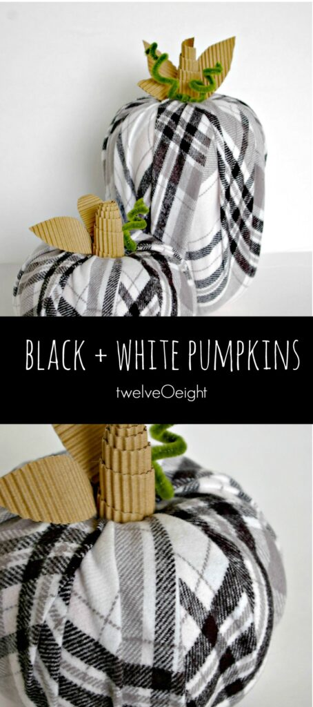 black-and-white-fall-decor-pumpkins-twelveoeight