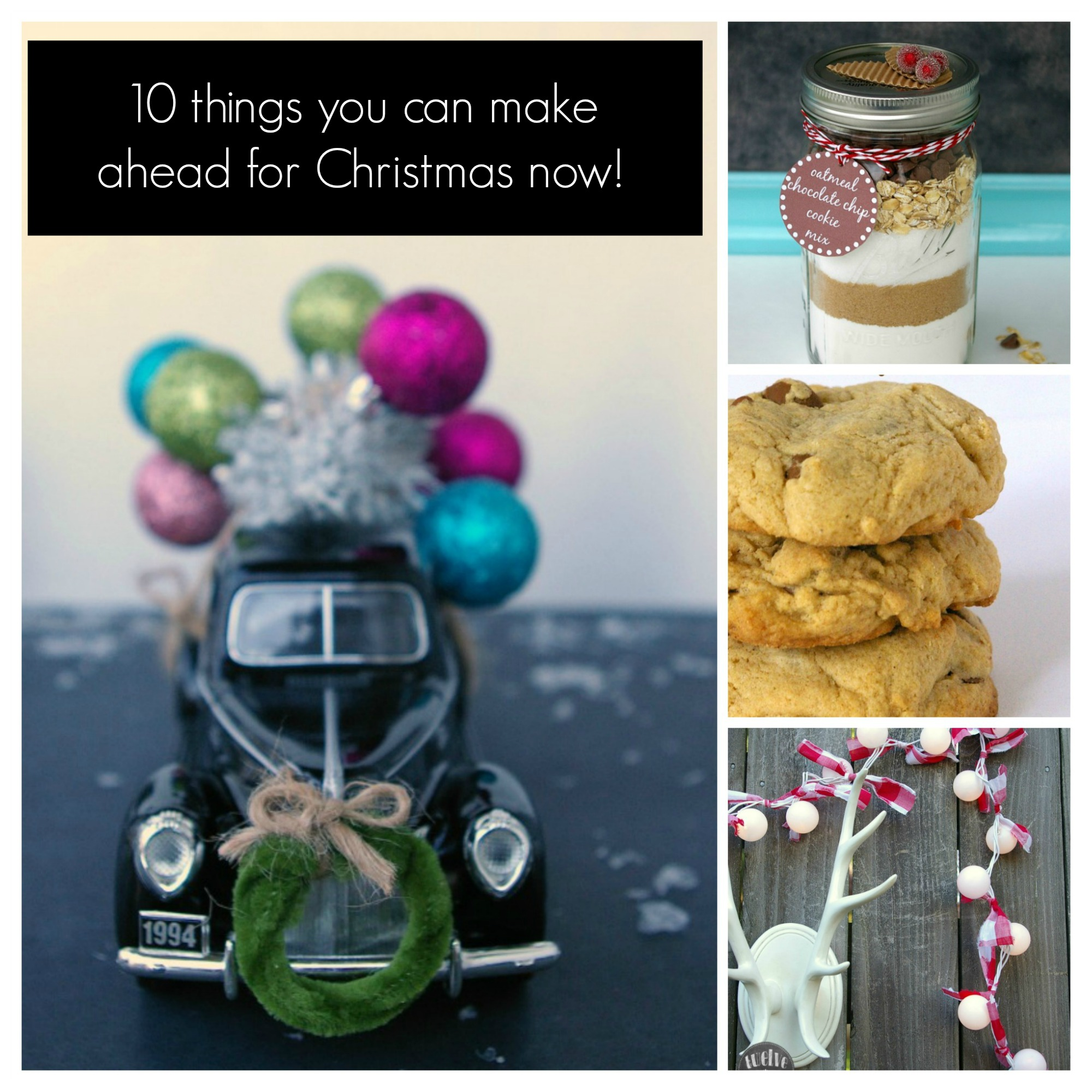 Best 28 make ahead christmas gifts christmas crafts for Christmas present ideas on a budget