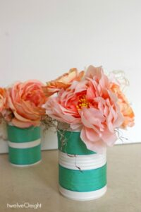 spring flower craft #spring #diy #craft #springdecor #twelveOeight #diywedding #budgetwedding