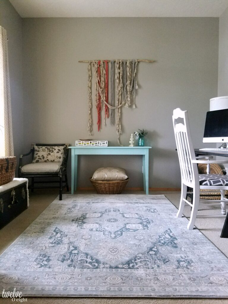 Vintage Style Rug Our Boho Farmhouse