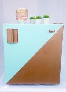 #paintedrefrigerator #diy #howtopaintarefrigerator